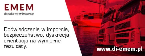 EMEM Doradztwo w Imporcie - dostawcy, transport, odprawa celna